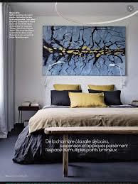 Parution dans Magazine ELLE tableau Nordfjord